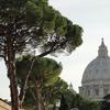 Another view of St. Peter's Dome from Vatican Museums.