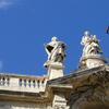 Statues on top of St. Mary Major Basilica.