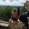 Miss Munda in Assisi