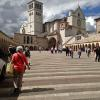 Via Frate Elia outside St. Francis Basilica, Assisi
