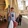 """Do they see me?"" - Via Frate Elia outside St. Francis Basilica, Assisi"