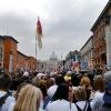 Over 500,000 cram in to see Canonization (another 4,000,000 had to watch on large screens sent up throughout Rome.